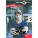 "Autogrammkarte ""Lars Hamann"""